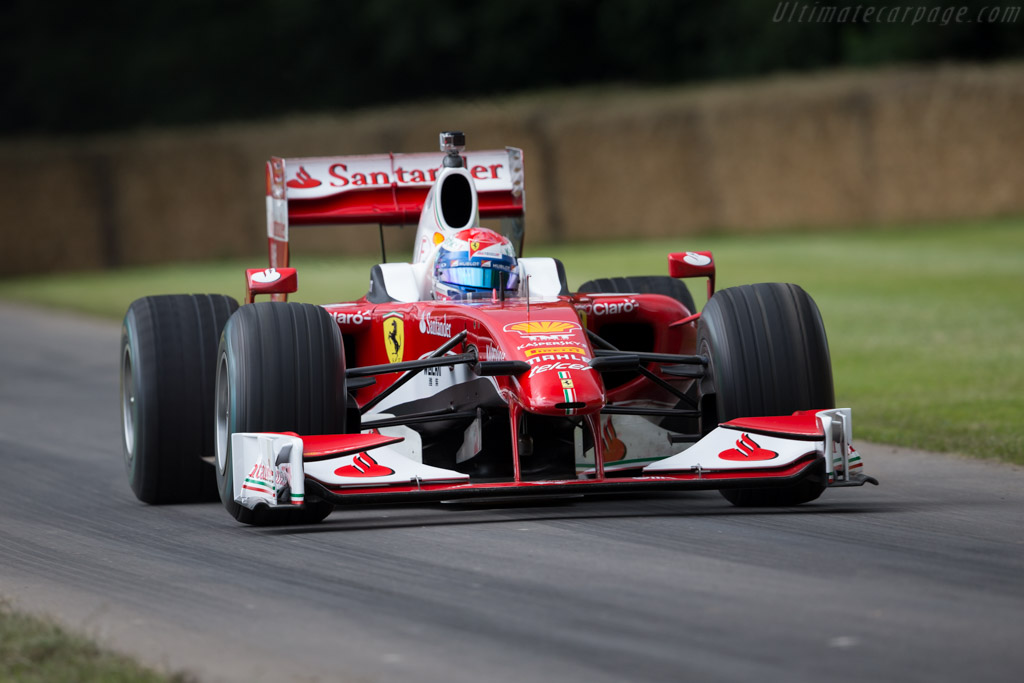 Ferrari F60 - Chassis: 280 - Entrant: Scuderia Ferrari - Driver: Marc Gene  - 2016 Goodwood Festival of Speed