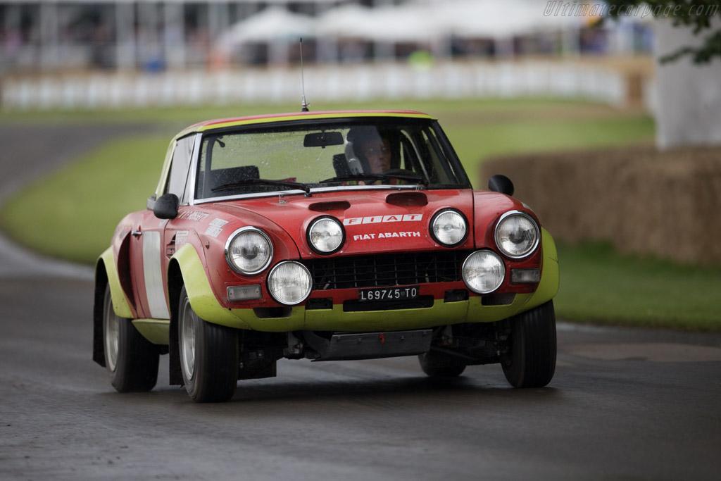 Fiat 124 Abarth Rally  - Entrant: Alfa Romeo Museo Storico - Driver: Arturo Merzario  - 2016 Goodwood Festival of Speed