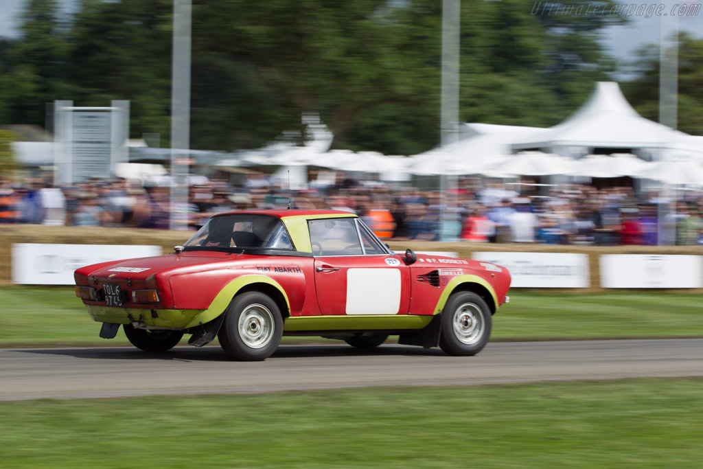 Fiat 124 Abarth Rally  - Entrant: Alfa Romeo Museo Storico - Driver: Arturo Merzario  - 2016 Goodwood Festival of Speed