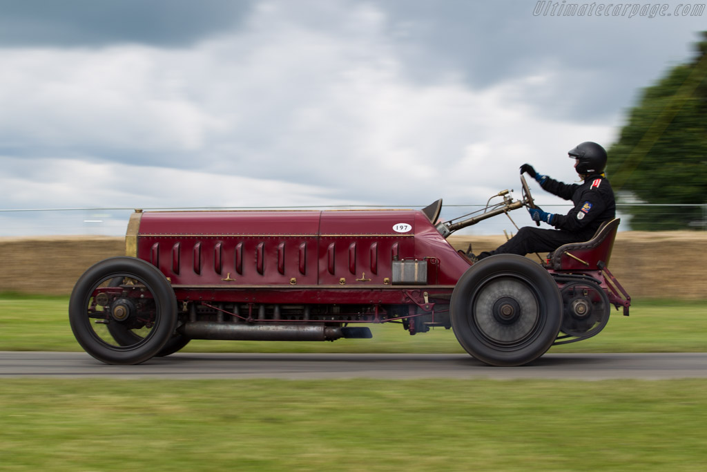 Fiat Isotta Fraschini  - Driver: Mike Vardy  - 2016 Goodwood Festival of Speed
