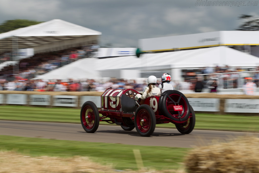 Fiat S61 - Chassis: 9124 - Entrant: William Evans - Driver: Billy Evans  - 2016 Goodwood Festival of Speed