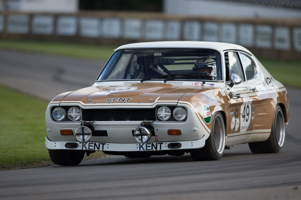 Ford Capri RS 2600 - Chassis: GAECLP19997 - Entrant: Doug Titford - Driver: Jochen Mass  - 2016 Goodwood Festival of Speed