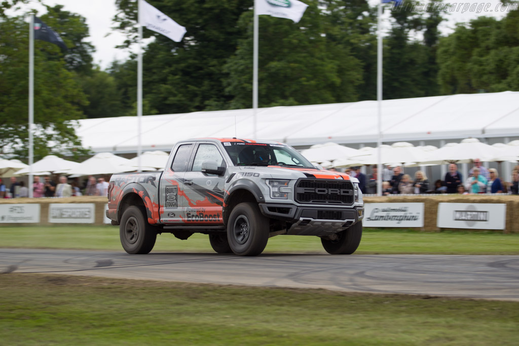 Ford F150 Raptor  - Entrant: Ford Motor Company - Driver: Ben Collins  - 2016 Goodwood Festival of Speed