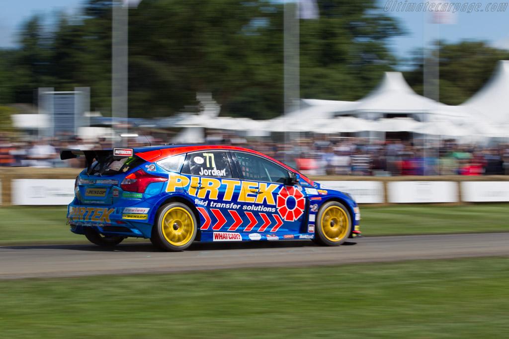 Ford Focus ST  - Entrant: Motorbase Performance - Driver: Andrew Jordan  - 2016 Goodwood Festival of Speed
