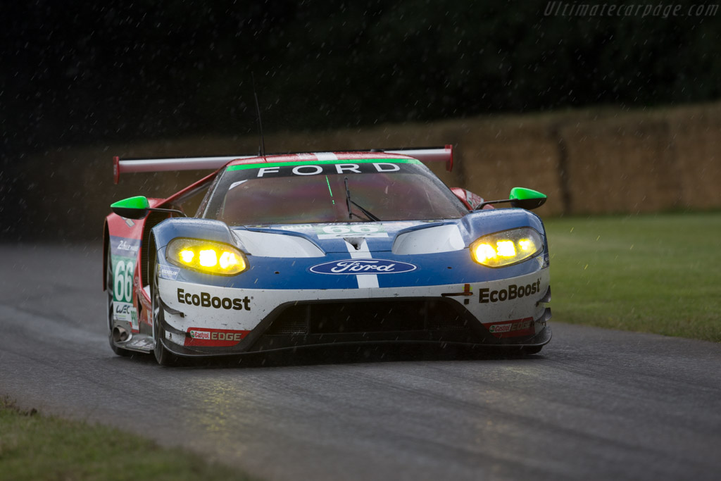 Ford GT LM GTE  - Entrant: Ford Chip Ganassi Team - Driver: Marino Franchitti  - 2016 Goodwood Festival of Speed