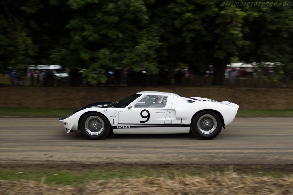 Ford Gt Prototype Chassis Gt  Driver Richard Meins  Goodwood Festival Of Speed