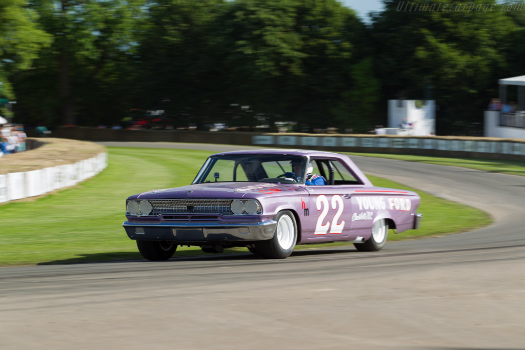 Ford Galaxie  - Driver: Lee Holman  - 2016 Goodwood Festival of Speed