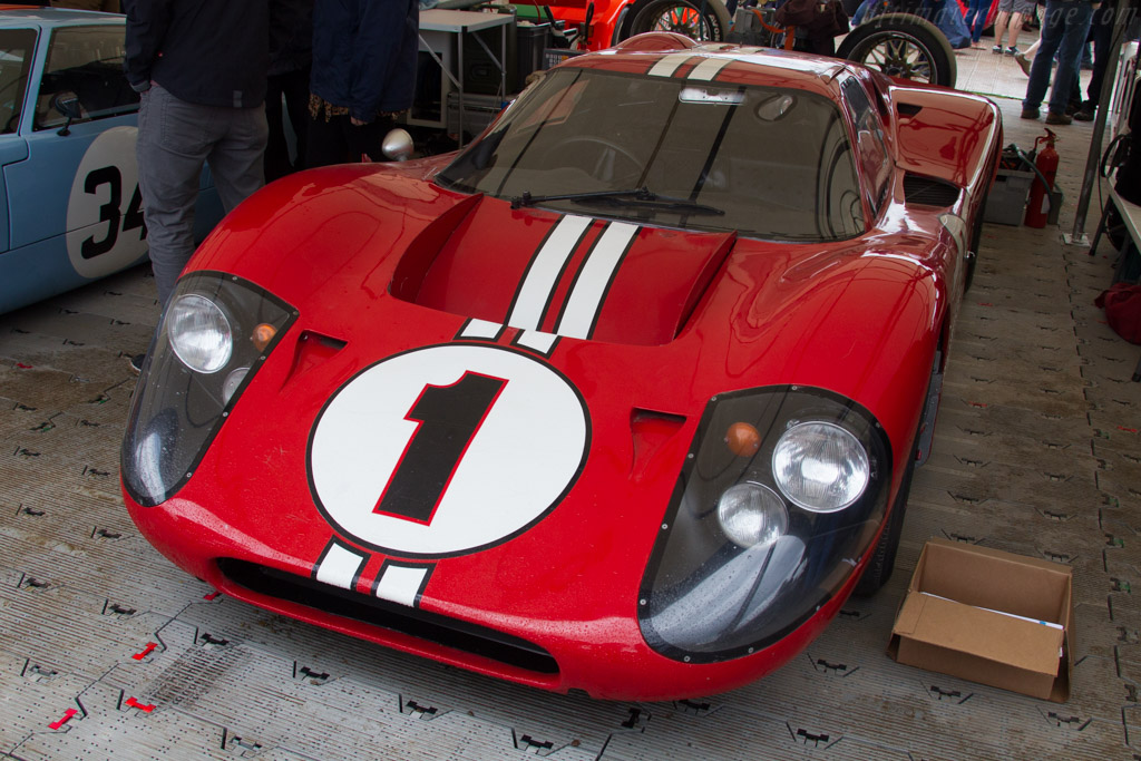 Ford Mk IV - Chassis: J-5 - Entrant: The Henry Ford  - 2016 Goodwood Festival of Speed