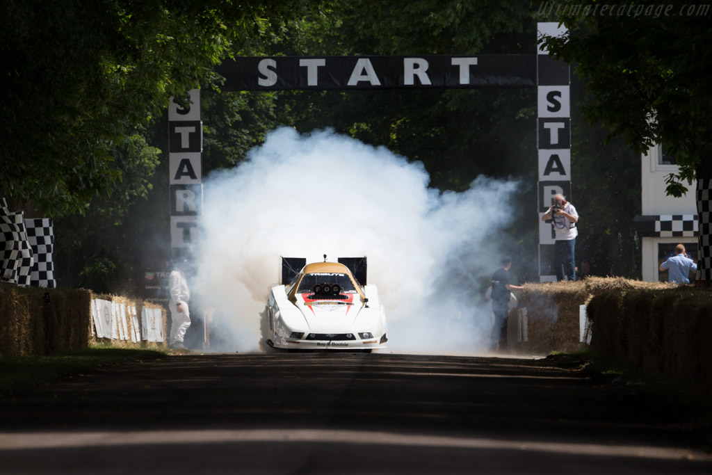 Ford Mustang Funny Car  - Driver: Jason Felps  - 2016 Goodwood Festival of Speed