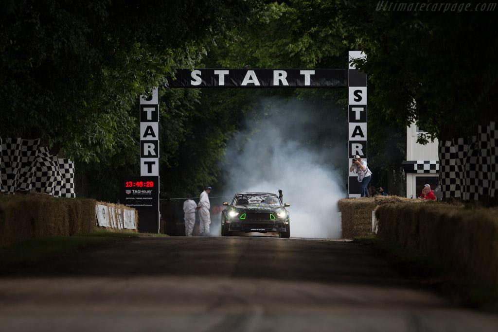 Ford Mustang RTR  - Driver: Vaughn Gittin Jr  - 2016 Goodwood Festival of Speed