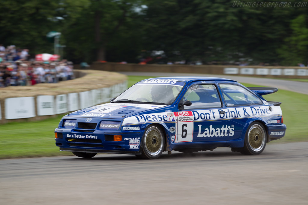 Ford Sierra RS500 - Chassis: ARERSC0389 - Driver: Paul Smith  - 2016 Goodwood Festival of Speed