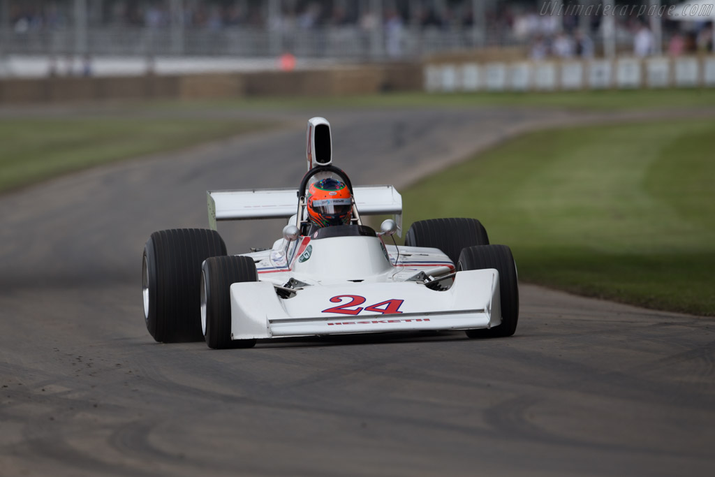 Hesketh 308 Cosworth - Chassis: 308/2 - Entrant: GP Extreme - Driver: Jordan Grogor - 2016 Goodwood Festival of Speed