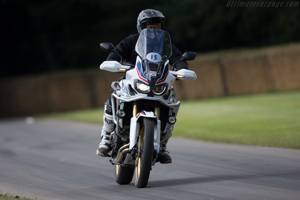 Honda CRF1000L Africa Twin  - Driver: Dave Thorpe  - 2016 Goodwood Festival of Speed
