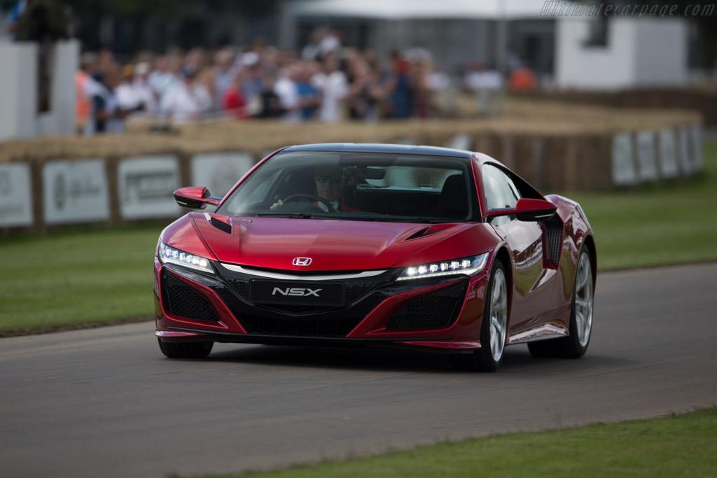 Honda NSX    - 2016 Goodwood Festival of Speed