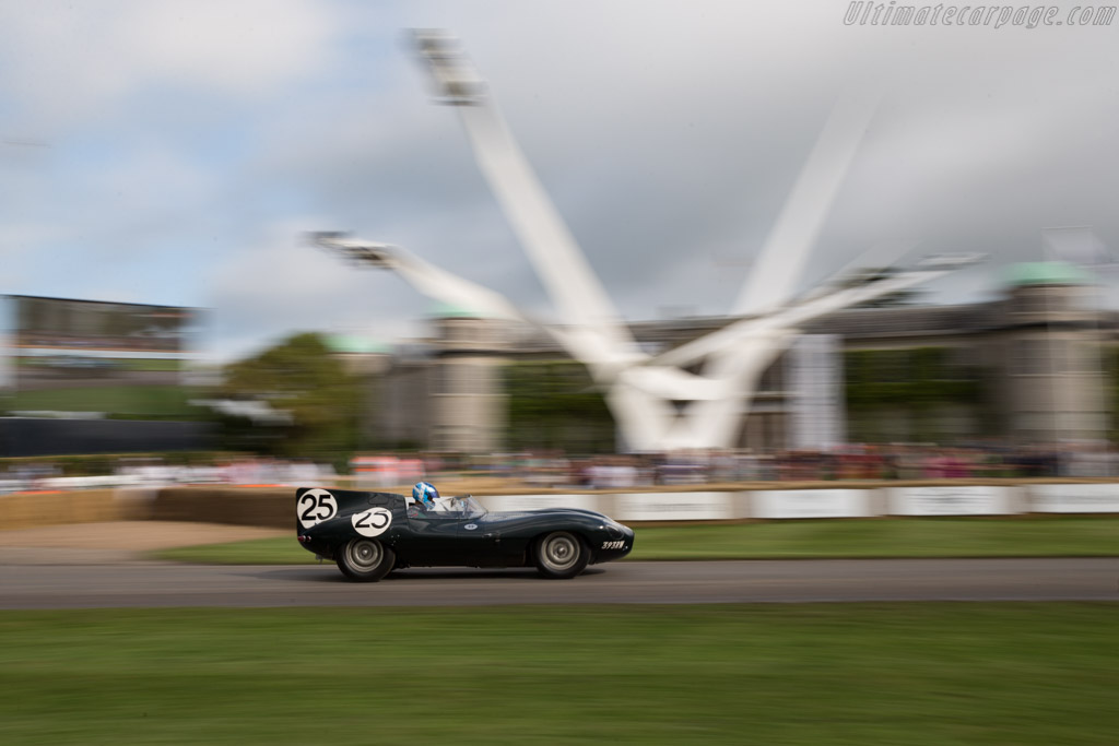 Jaguar D-Type Longnose - Chassis: XKD 605 - Entrant: Jaguar Daimler Heritage - Driver: James Martin  - 2016 Goodwood Festival of Speed