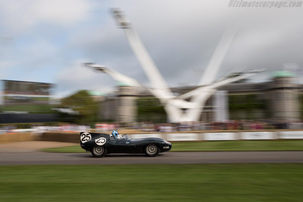 Jaguar D-Type Longnose - Chassis: XKD 605 - Entrant: Jaguar Daimler Heritage - Driver: James Martin  - 2016 Goodwood Festival of Speed
