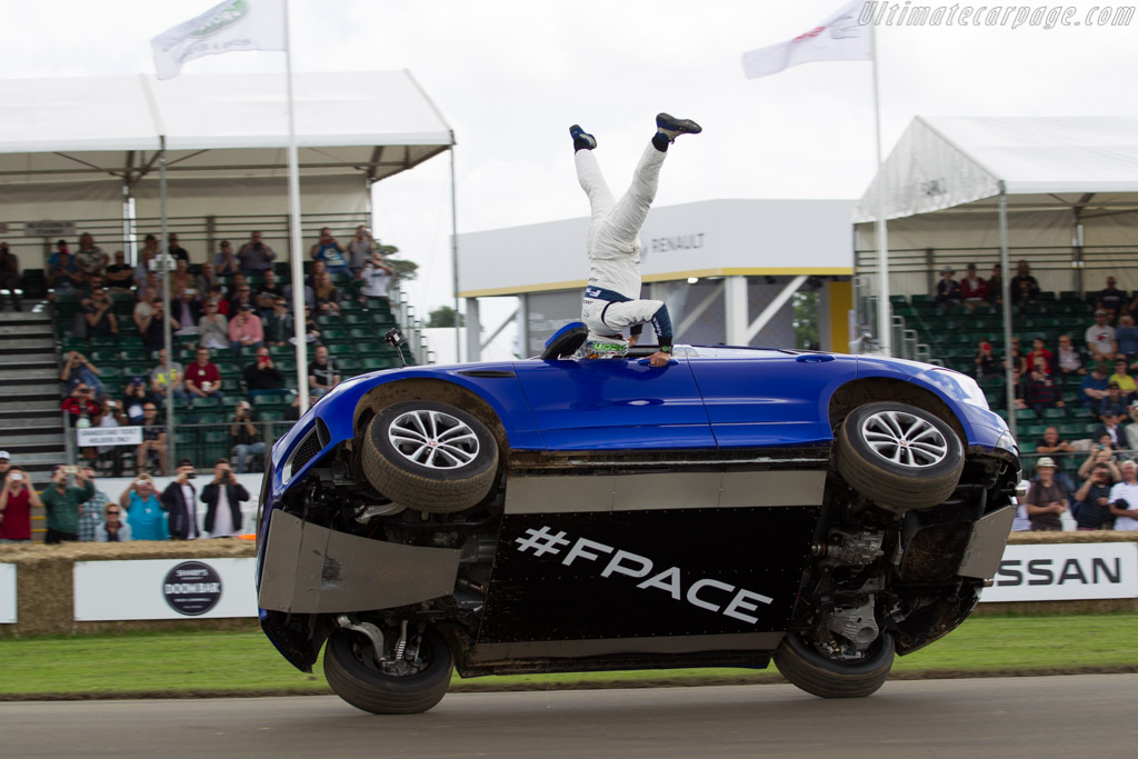 Jaguar F-Pace    - 2016 Goodwood Festival of Speed