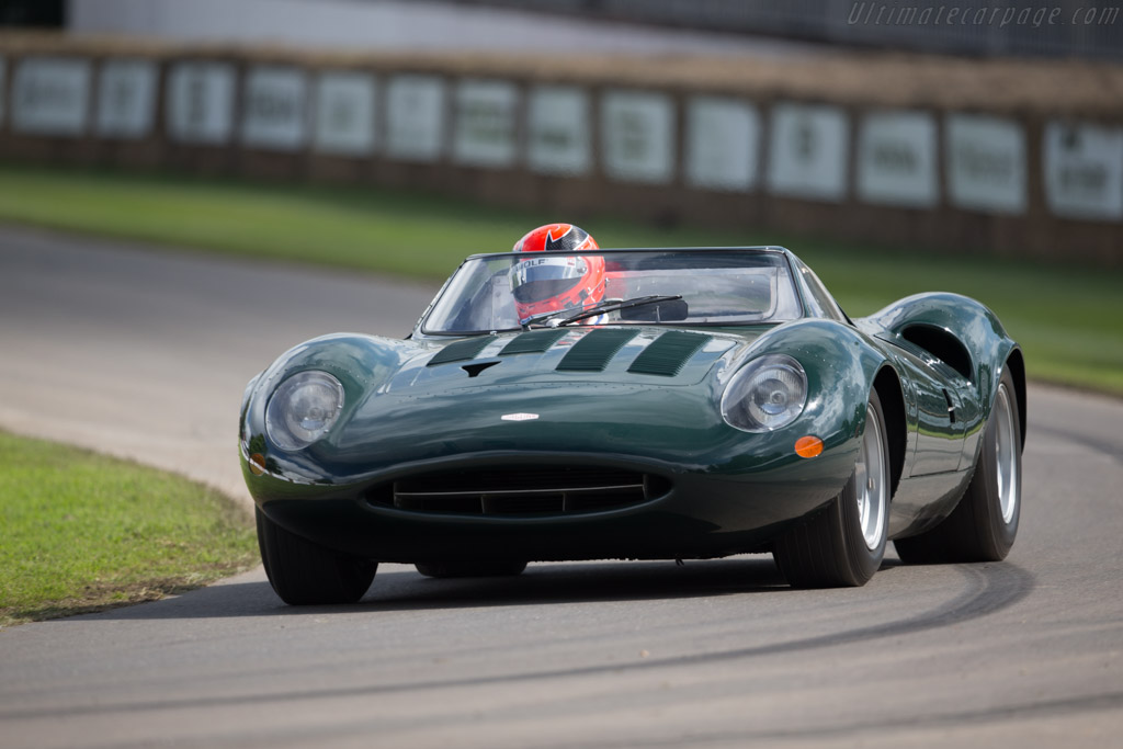 Jaguar XJ13 - Chassis: XJ13 - Entrant: Jaguar Daimler Heritage Trust - Driver: Stuart Dyble  - 2016 Goodwood Festival of Speed