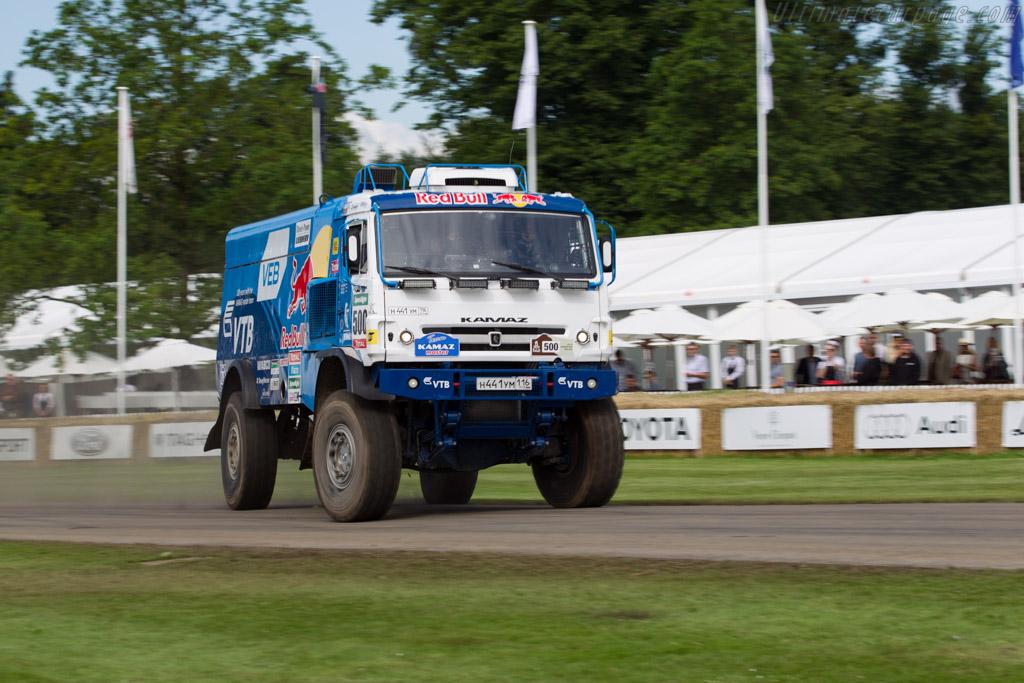 Kamaz T4 Dakar Truck  - Entrant: Red Bull UK - Driver: Airat Mardeev  - 2016 Goodwood Festival of Speed