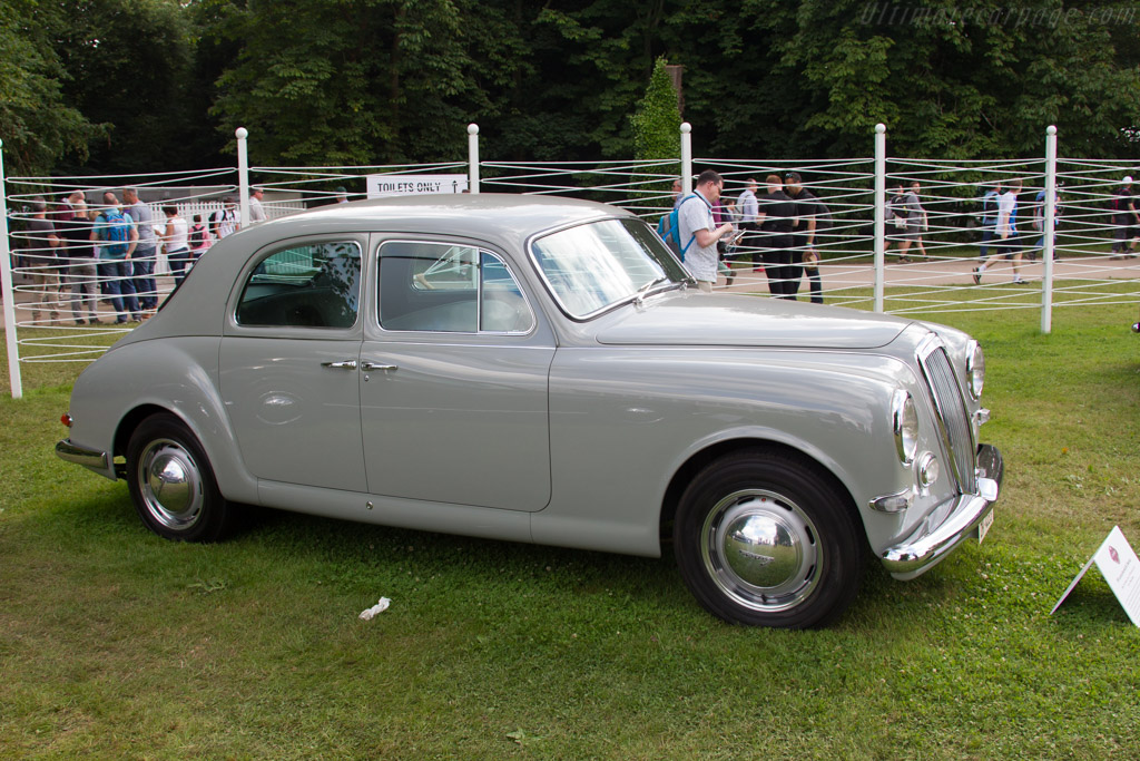 Lancia Aurelia B12 Berlina  - Entrant: Wenzel Gelpke  - 2016 Goodwood Festival of Speed