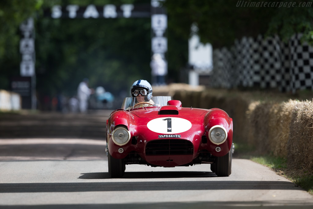 Lancia D24 - Chassis: 0005 - Driver: Lukas Hüni  - 2016 Goodwood Festival of Speed