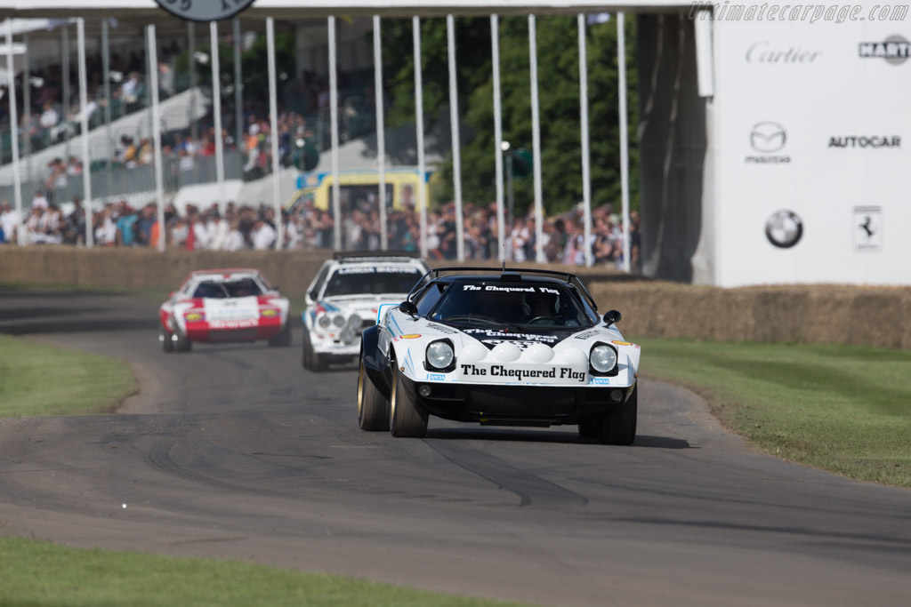 Lancia Stratos - Chassis: 829AR0 001716 - Entrant: Lukas Hüni - Driver: Mauro Ambrogi  - 2016 Goodwood Festival of Speed
