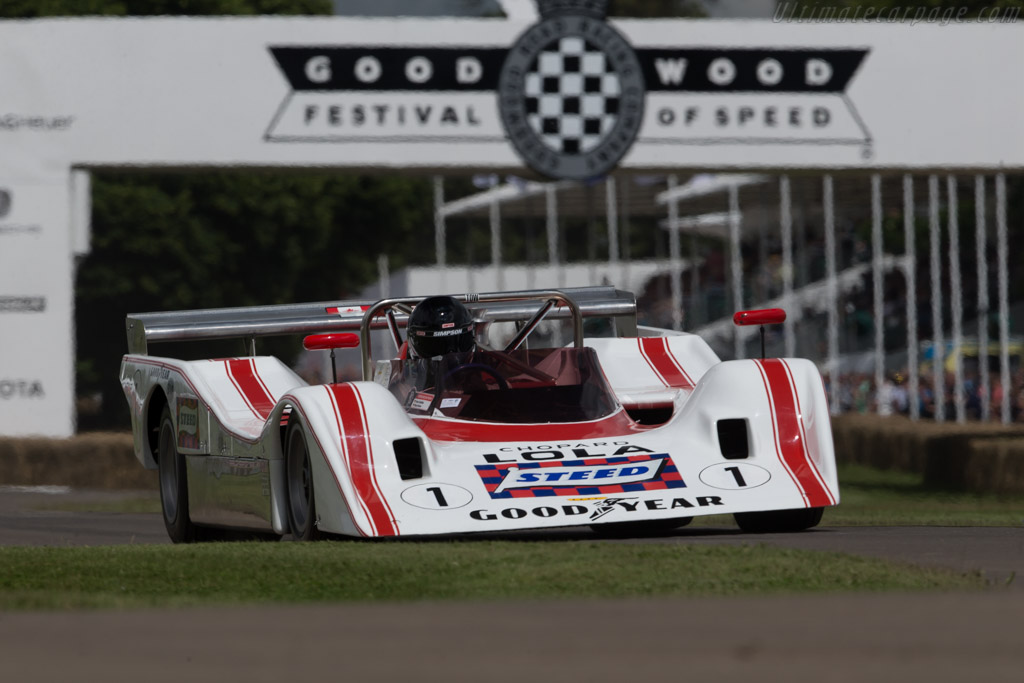 Lola T310 - Chassis: HU02 - Driver: Peter Schleiffer  - 2016 Goodwood Festival of Speed