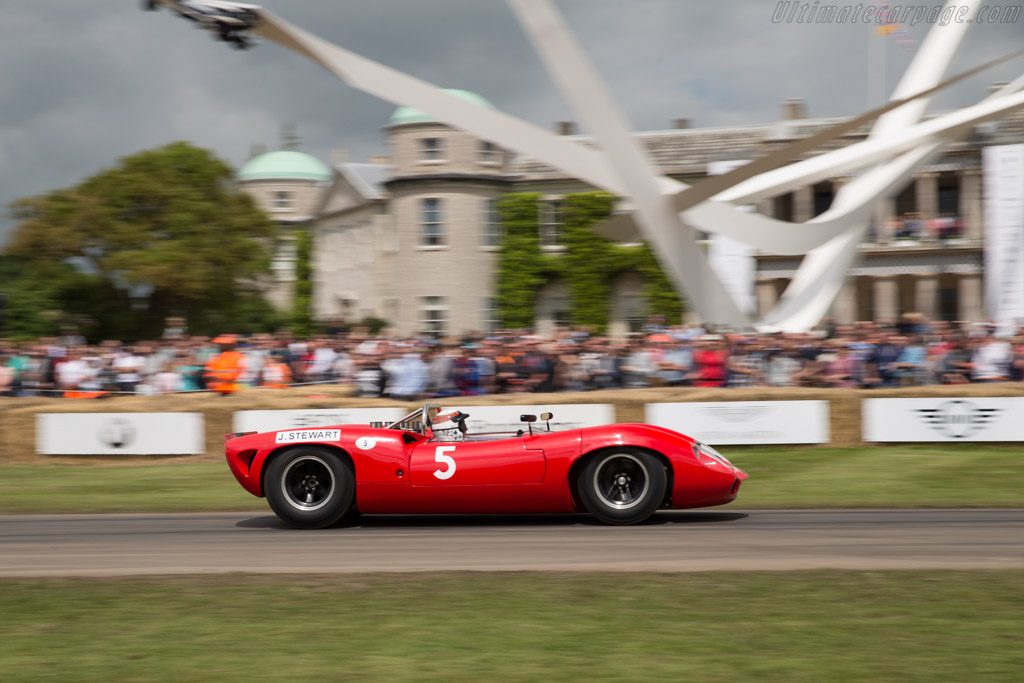 Lola T70 Spyder - Chassis: SL70/1 - Entrant: Grant Reid - Driver: Sir Jackie Stewart  - 2016 Goodwood Festival of Speed
