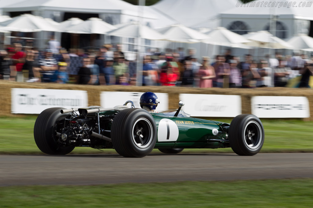 Lotus 43 BRM - Chassis: 43/1 - Entrant: Philip Middlehurst - Driver: Andy Middlehurst  - 2016 Goodwood Festival of Speed