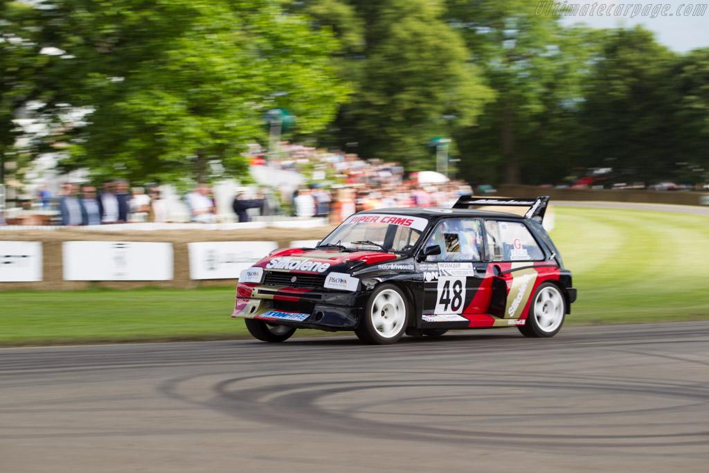 MG Metro 6R4  - Driver: Adam Keeler  - 2016 Goodwood Festival of Speed
