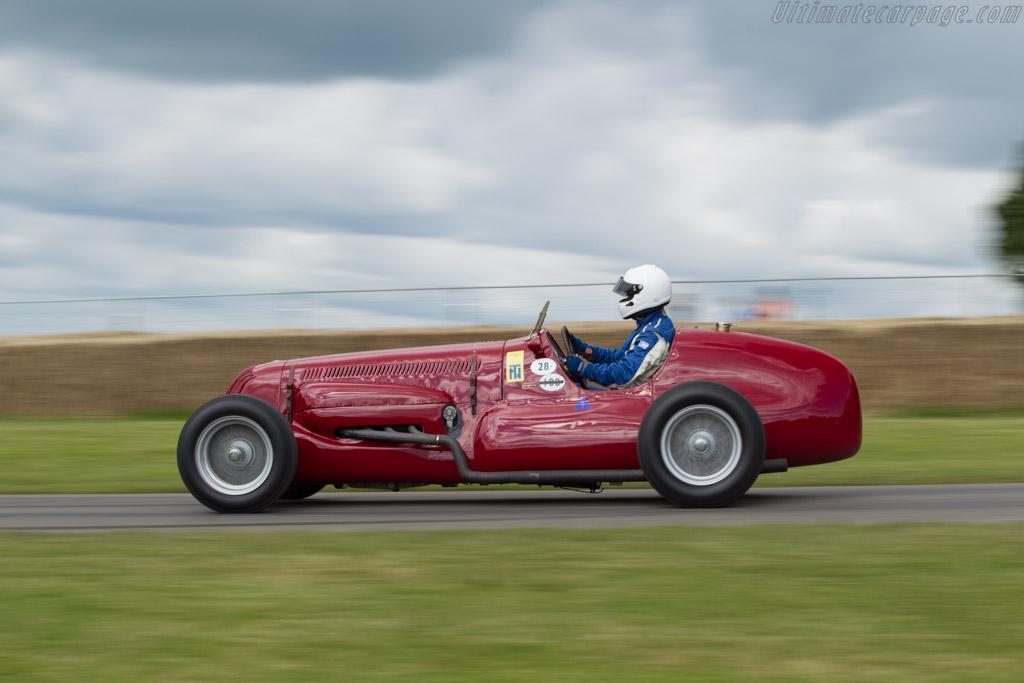 Maserati V8RI - Chassis: 4501 - Entrant: Michael Gans - Driver: Phil Ingle  - 2016 Goodwood Festival of Speed