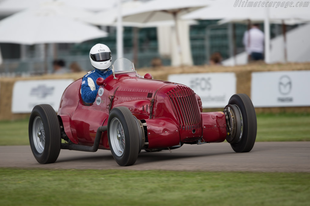 Maserati V8RI - Chassis: 4501 - Entrant: Michael Gans - Driver: Phil Ingle  - 2016 Goodwood Festival of Speed