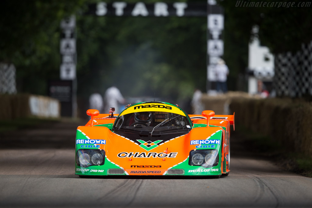 Mazda 767B - Chassis: 767 - 003 - Driver: Moritz Werner  - 2016 Goodwood Festival of Speed