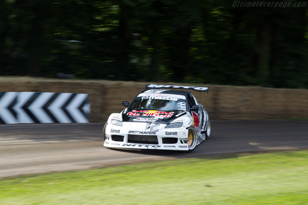 Mazda RX-8  - Entrant: Red Bull UK - Driver: Mike Whiddett  - 2016 Goodwood Festival of Speed