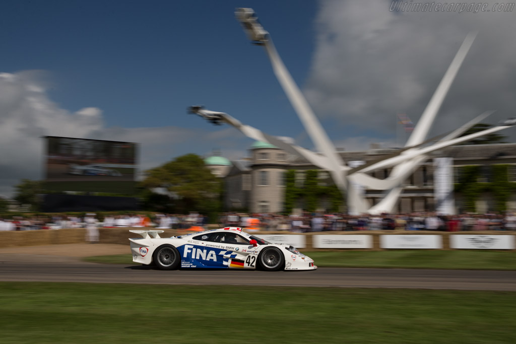 McLaren F1 GTR Long Tail - Chassis: 26R - Entrant: BMW Group Classic - Driver: Steve Soper  - 2016 Goodwood Festival of Speed