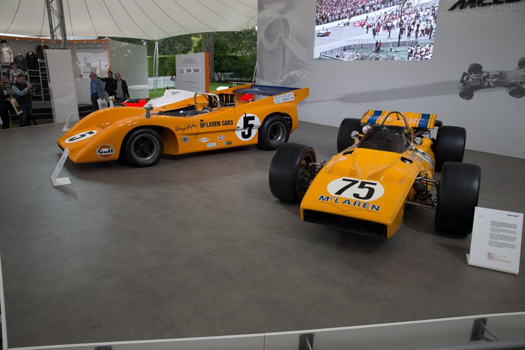 McLaren M15 Offenhauser - Chassis: M15/3   - 2016 Goodwood Festival of Speed