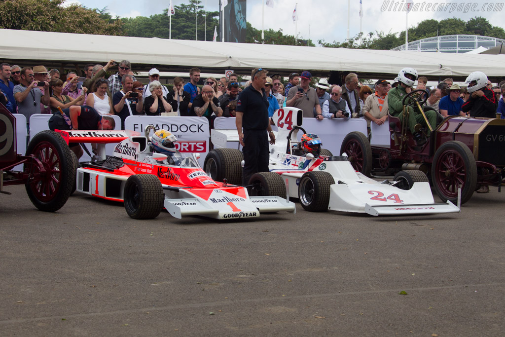 McLaren M23 Cosworth - Chassis: M23-11 - Entrant: Charles Nearburg - 2016 Goodwood Festival of Speed