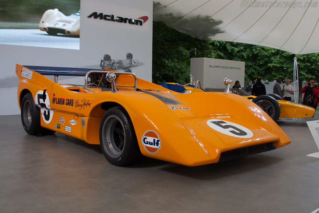 McLaren M8D Chevrolet - Chassis: M8D/1   - 2016 Goodwood Festival of Speed