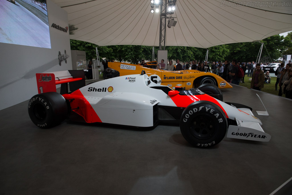 McLaren MP4/2C Porsche - Chassis: MP4/2C-5   - 2016 Goodwood Festival of Speed