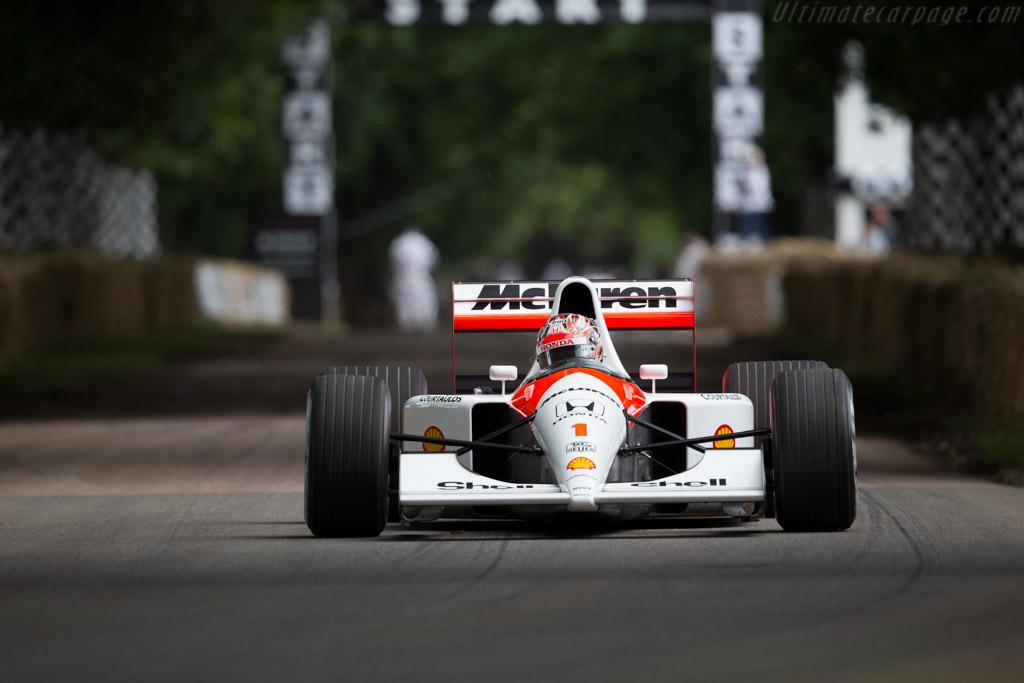 McLaren MP4/6 Honda - Chassis: MP4/6-10 - Entrant: McLaren F1 - Driver: Nobuharu Matsushita  - 2016 Goodwood Festival of Speed