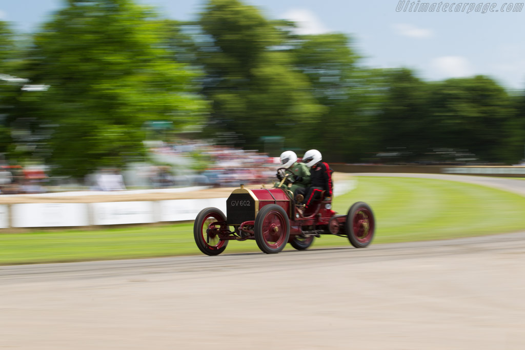Mercedes 60 hp  - Driver: Ben Collings  - 2016 Goodwood Festival of Speed