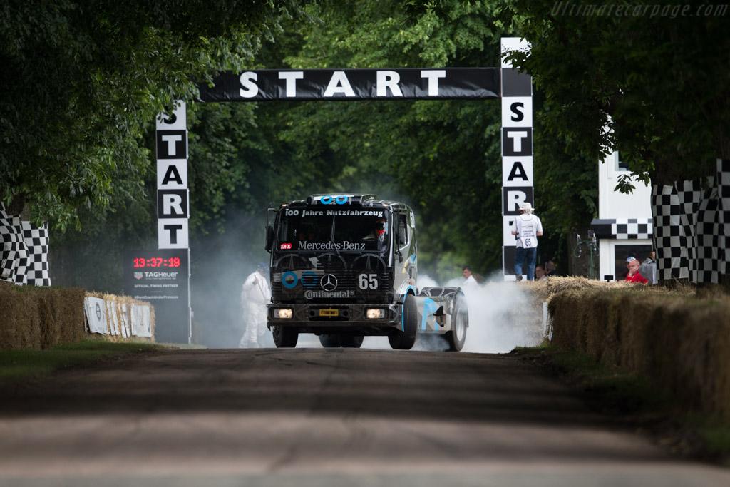 Mercedes-Benz 1834 S Race Truck  - Entrant: Mercedes-Benz Classic - Driver: Ellen Lohr  - 2016 Goodwood Festival of Speed