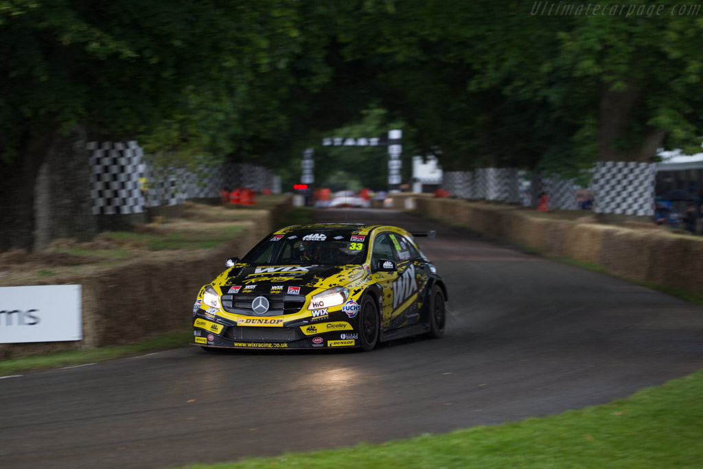 Mercedes-Benz A-Class  - Entrant: Wix Racing - Driver: Adam Morgan  - 2016 Goodwood Festival of Speed