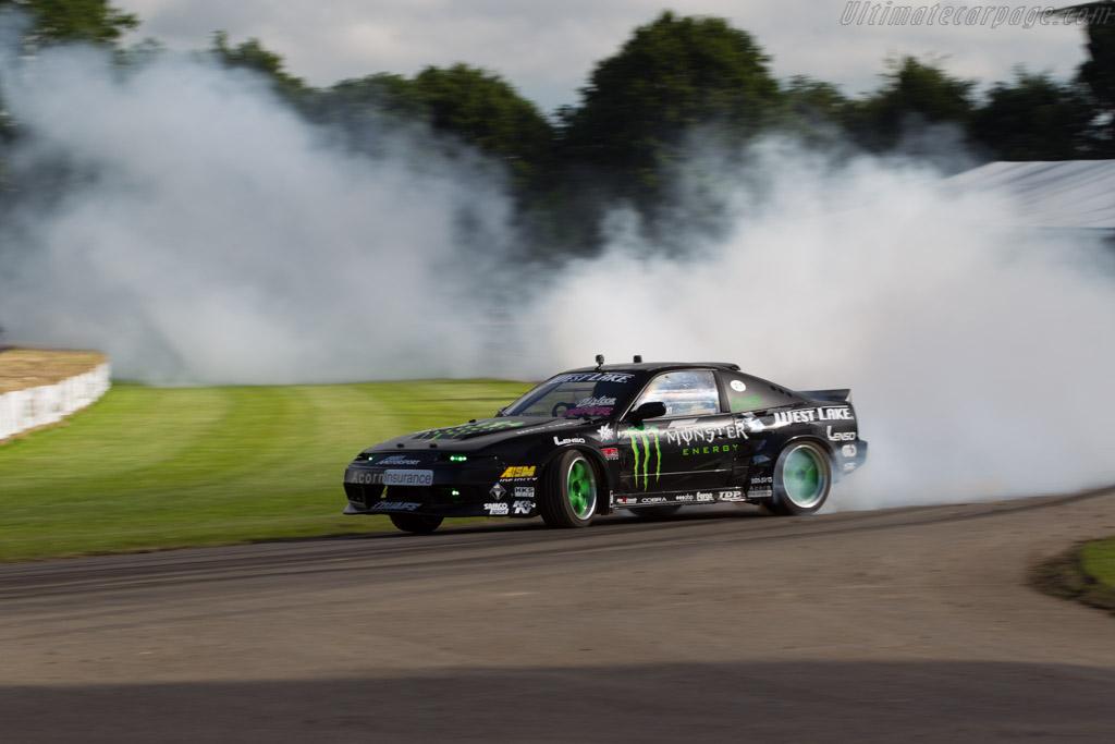 Nissan 200SX S14  - Driver: Luke Woodham  - 2016 Goodwood Festival of Speed
