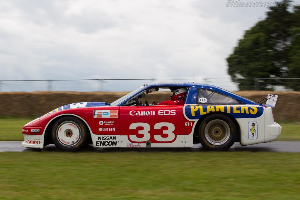 Nissan 300ZX IMSA GTO  - Driver: Adam Carolla  - 2016 Goodwood Festival of Speed