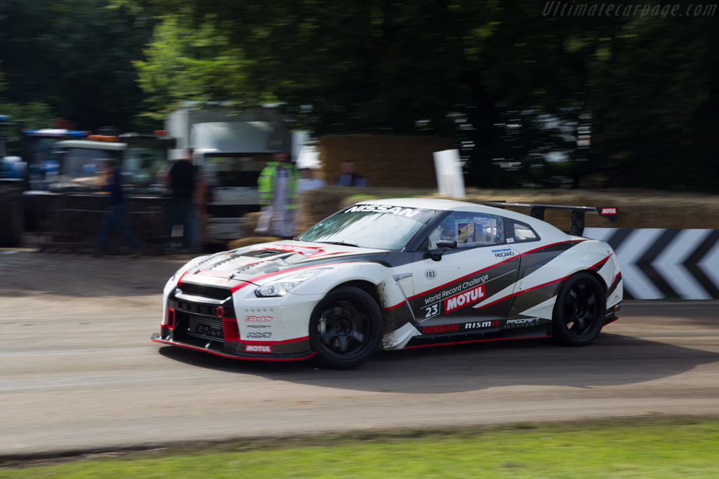 Nissan GT-R  - Driver: James Deane  - 2016 Goodwood Festival of Speed