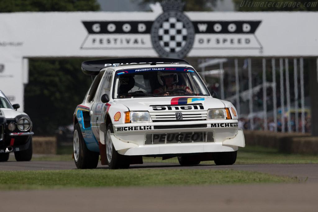 Peugeot 205 T16 E2  - Driver: Enda Garvey  - 2016 Goodwood Festival of Speed