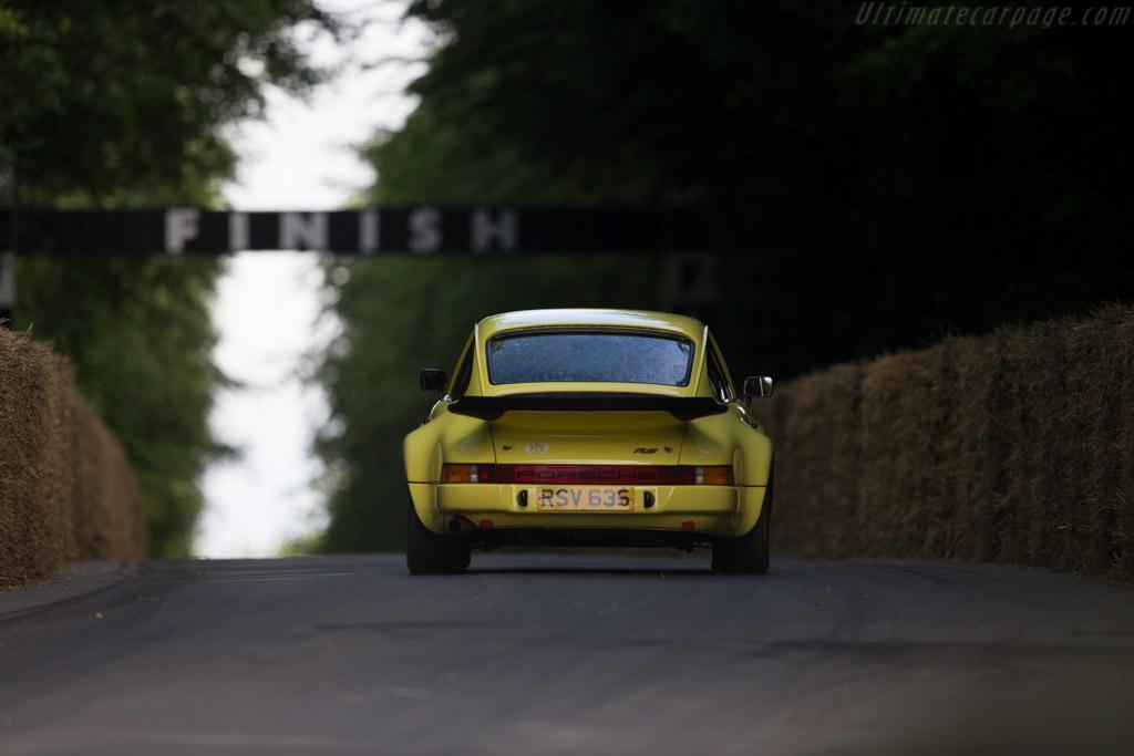 Porsche 911 Carrera RS 3.0 - Chassis: 911 460 9099 - Entrant: Nigel Corner - Driver: Tom Hunt  - 2016 Goodwood Festival of Speed