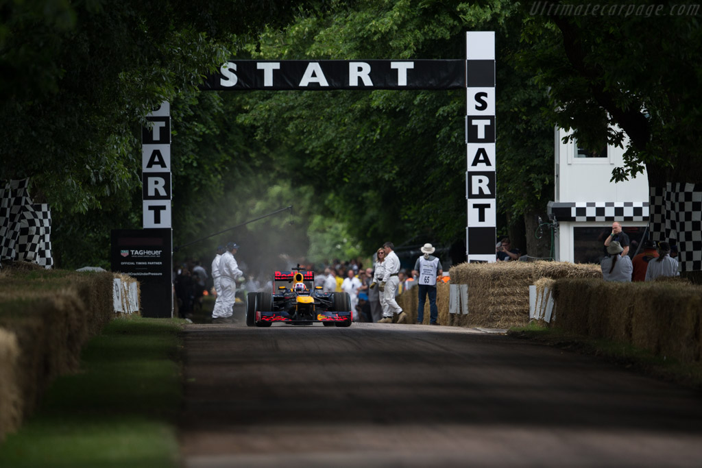 Red Bull Racing RB8 Renault  - Entrant: Red Bull Racing - Driver: Pierre Gasly  - 2016 Goodwood Festival of Speed