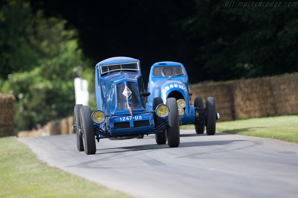 Renault 40CV Montlhéry Coupe  - Entrant: Renault Classic - Driver: Jean-Louis Pichafroy  - 2016 Goodwood Festival of Speed